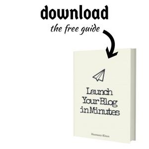 launch wordpress blog in minutes