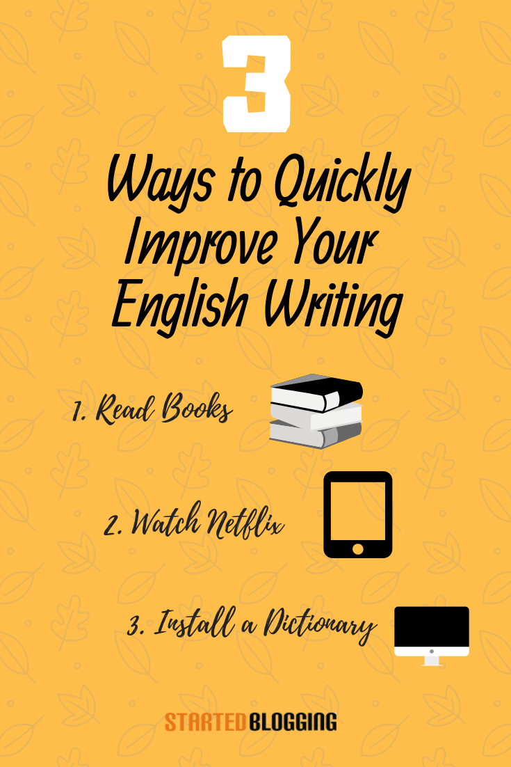How to become better in english essay