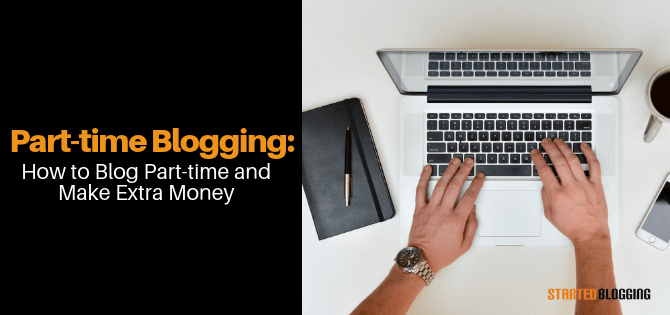 part-time blogging