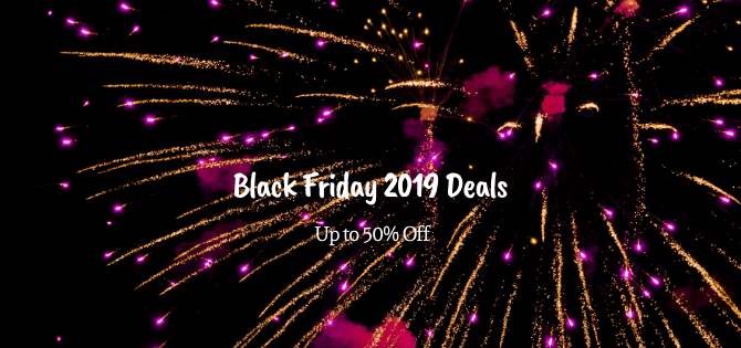 Black Friday 2019 Deals [Up to 50% Off]