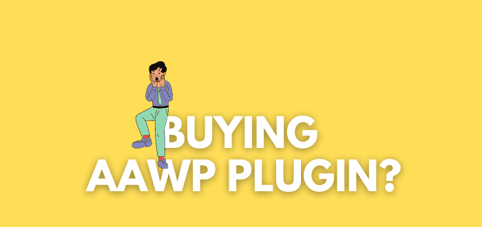 "Should You Buy the ""AAWP Plugin"" for an Amazon Affiliate Site?"