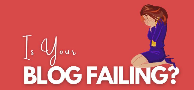 Blog Failing Despite Publishing Articles Regularly