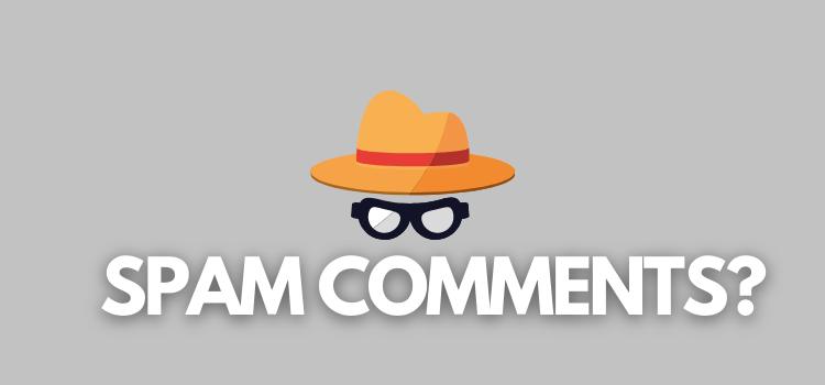Stop SPAM Comments on Your WordPress Blog